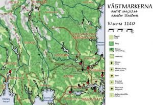 Arosia, Högmark och Västmarkerna