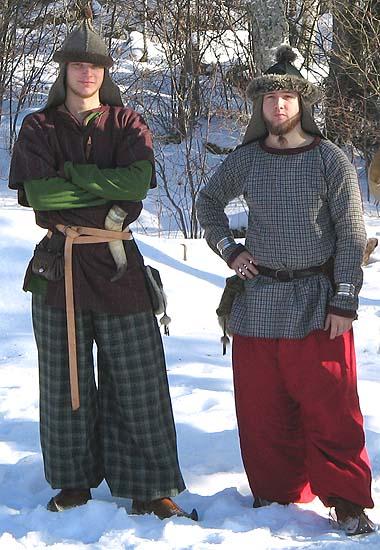 Två handelsmän från Frosta. Foto: Theo Axner (2006)