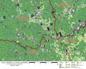 Norra Arosia och södra Högmark