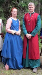 Prinsessan Ilda och prins Imrar, kronprinsessan Adrianas yngre syskon.  Foto: Theo Axner, 2015