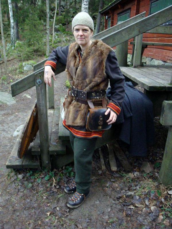 Borgrun, en dvärgsmed och befästningsingenjör. Foto: Henrik Hoffström, 2014