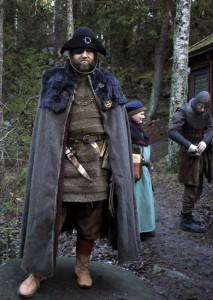 Herse Enar Svartskägg, kapten för Björnarna.  Foto: Mia Jormelius, 2014