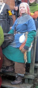Lina, en ung Drakfågel i Illrarnas hop.  Foto: Theo Axner, 2014