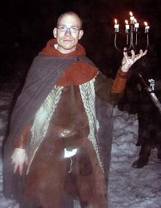 Terje Adarsson, en medlem av Björnarnas hop.  Foto: Joachim Forsberg, 2002