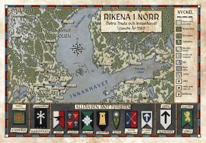 Rikena i norr