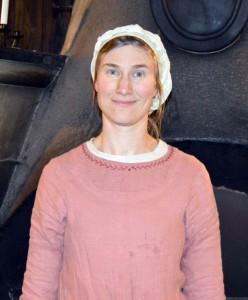 Geira, matmor och kvartermästare vid Unnsbacken.  Foto: Camilla Mörn, 2016