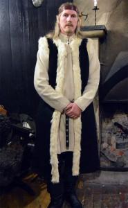 Helcaril, en alv och magiker från Laiquambo och en av Nyckelns väktare.  Foto: Camilla Mörn, 2016