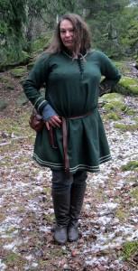 Sofia Björnäng, en av Drakfåglarnas kaptener.  Foto: Theo Axner, 2016