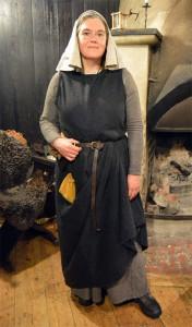 Stenhild, en av de landsflyktiga trollkunniga.  Foto: Camilla Mörn, 2016
