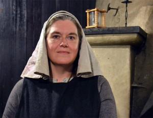 Stenhild, en av de landsflyktiga trollkunniga.  Foto: Camilla Mörn
