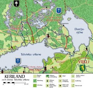 Keriland och östra Talviska viken