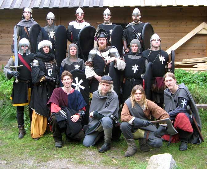 Eskorttruppen med den Furstliga expeditionen: Legio II Serpens, I Fotregementet, II Bataljonen, III Kompaniet, II Troppen med tilldelad auxilia. Foto: Theo Axner