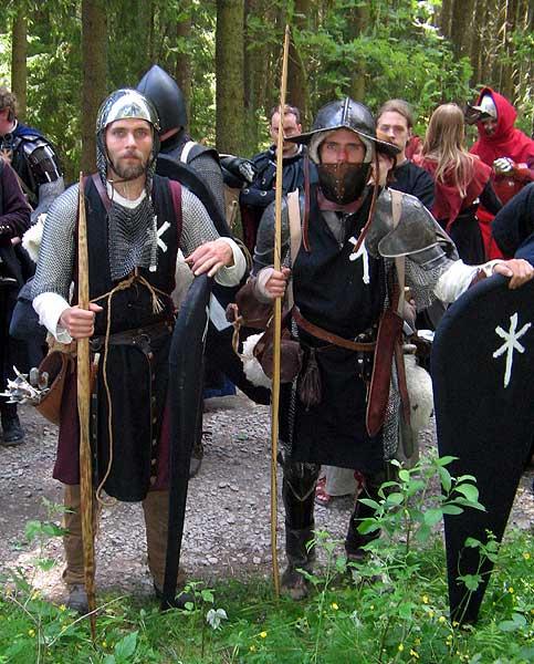 Legionärerna Hernan och Rodrigo.  Foto: Theo Axner