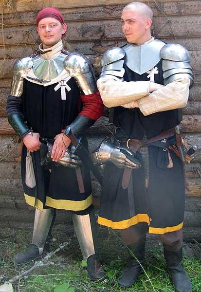 Underkorpral Keitler och korpral Antonius, två Furstliga underbefäl.  Foto: Sara Zackrisson Andersson
