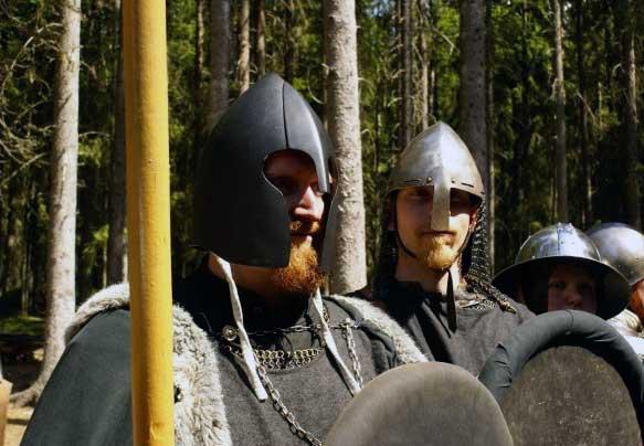 Legionärerna Nathan Bardskär och Siglar Raske.  Foto: Kalle Lantz