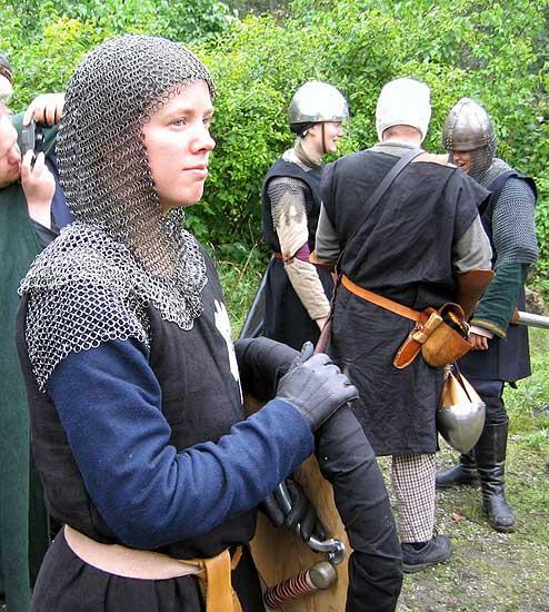 Sigrid Prock, en Furstlig legionär född i Norrhamn.  Foto: Fredrik Enmark