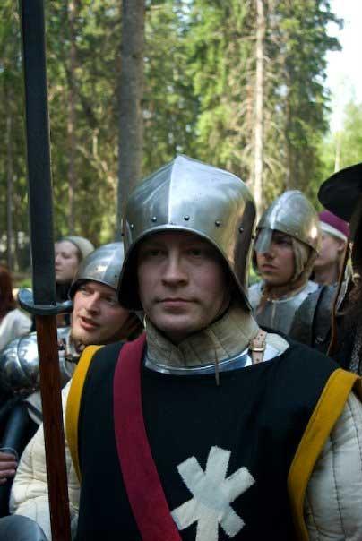Sergeant Sebald Rohr, ställföreträdande chef för eskorttruppen.  Foto: Jan-Åke Steenberg (2009)