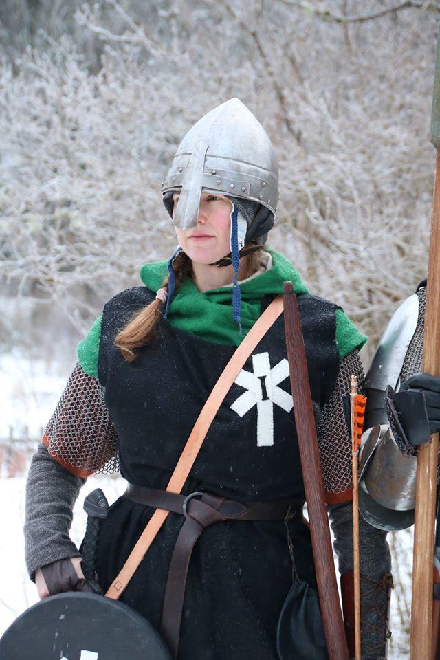 Legionär Torun Grävare. (Foto: Torbjörn Walberg, 2017)